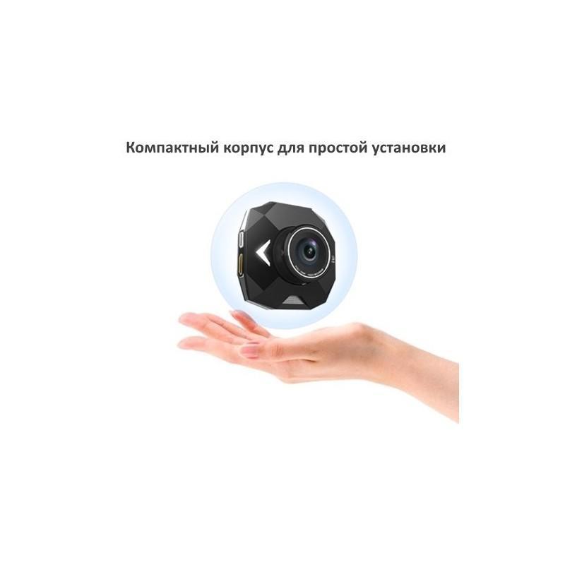 Автомобильный видеорегистратор Road Guard – 1080p, 2.4 дюйма, 160 градусов, циклическая запись, датчик движения, G-сенсор 183473