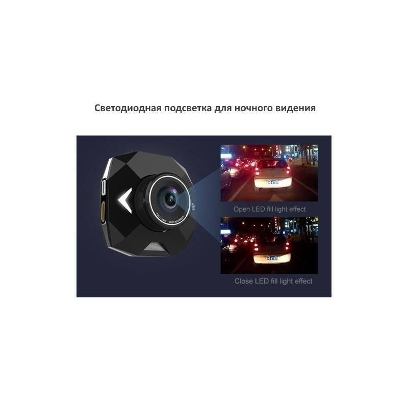 Автомобильный видеорегистратор Road Guard – 1080p, 2.4 дюйма, 160 градусов, циклическая запись, датчик движения, G-сенсор 183474