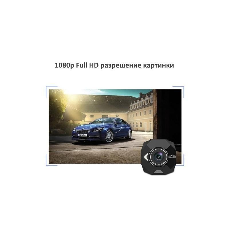 Автомобильный видеорегистратор Road Guard – 1080p, 2.4 дюйма, 160 градусов, циклическая запись, датчик движения, G-сенсор 183475