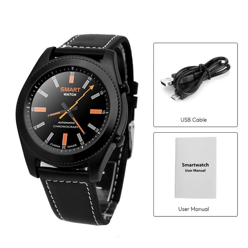 Умные часы No.1 S9 – Bluetooth, фитнес датчики, 380 мАч, 1.3-дюймовый сенсорный экран 209375