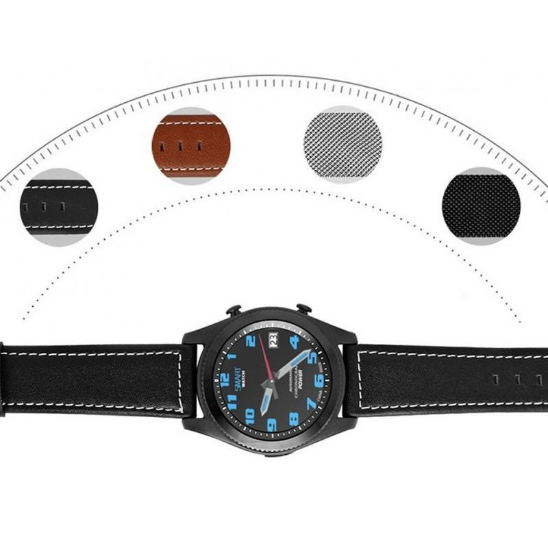 Умные часы No.1 S9 – Bluetooth, фитнес датчики, 380 мАч, 1.3-дюймовый сенсорный экран 209380