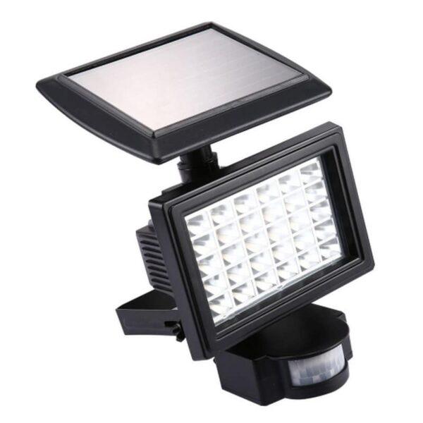 33007 - LED прожектор Solar 200LM - солнечная батарея, датчик движения, IP 65, 30 светодиодов