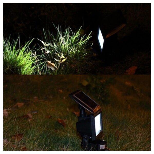33011 - LED прожектор Solar 200LM - солнечная батарея, датчик движения, IP 65, 30 светодиодов