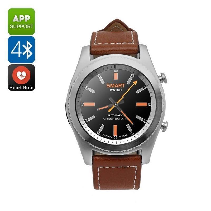 Умные часы No.1 S9 – Bluetooth, фитнес датчики, 380 мАч, 1.3-дюймовый сенсорный экран 209382