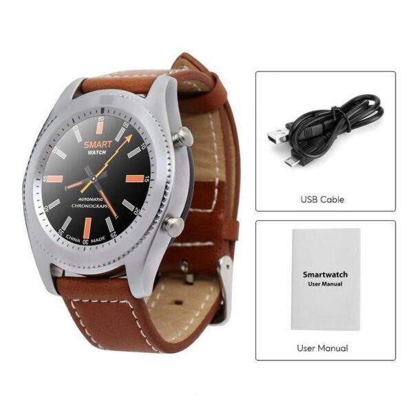 33062 - Умные часы No.1 S9 - Bluetooth, фитнес датчики, 380 мАч, 1.3-дюймовый сенсорный экран