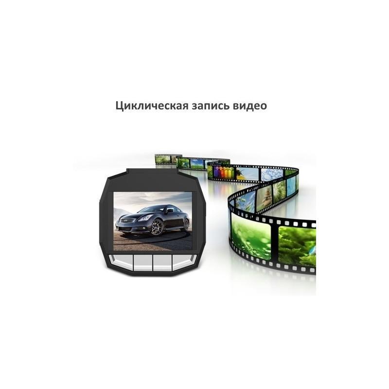 Автомобильный видеорегистратор Road Guard – 1080p, 2.4 дюйма, 160 градусов, циклическая запись, датчик движения, G-сенсор 183478