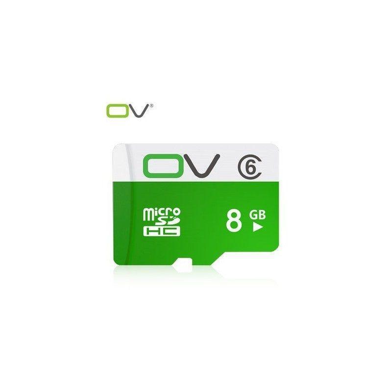 Карта памяти OV micro SD 8 Гб – SDHC, Class 6, UHS-I U1, 80 Мб/сек