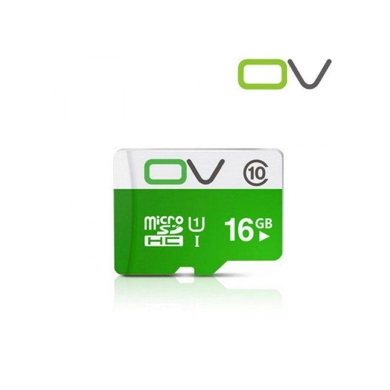 Карта памяти OV micro SD 16 Гб – SDHC, Class 10, UHS-I U1, 80 Мб/сек