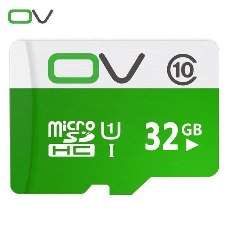 Карта памяти OV micro SD 32 Гб – SDHC, Class 10, UHS-I U1, 80 Мб/сек