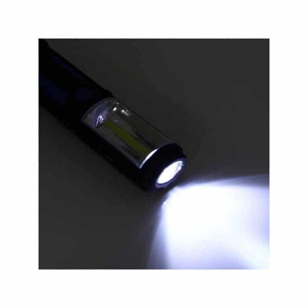 33374 - Водонепроницаемый фонарь-лампа PR5W-USB - 400 LM, IP43, USB зарядка, белый свет, магнитная основа, поворотное крепление, крючок