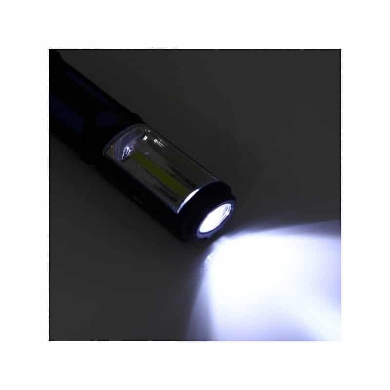 Водонепроницаемый фонарь-лампа PR5W-USB – 400 LM, IP43, USB зарядка, белый свет, магнитная основа, поворотное крепление, крючок 209713