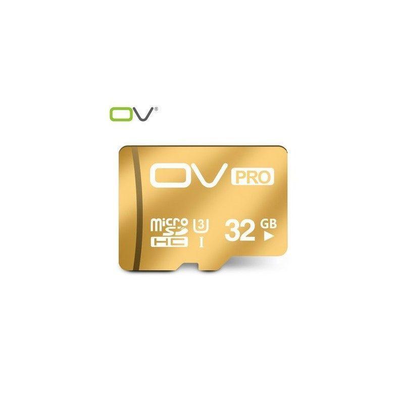 Карта памяти OV Pro micro SD 32 Гб – SDHC, Class 10, UHS-I U3, 95 Мб/сек