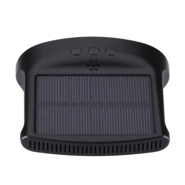 33696 - Система контроля давления в шинах - солнечная батарея, USB-зарядка, 4 датчика, IP67, ЖК-дисплей, оповещения