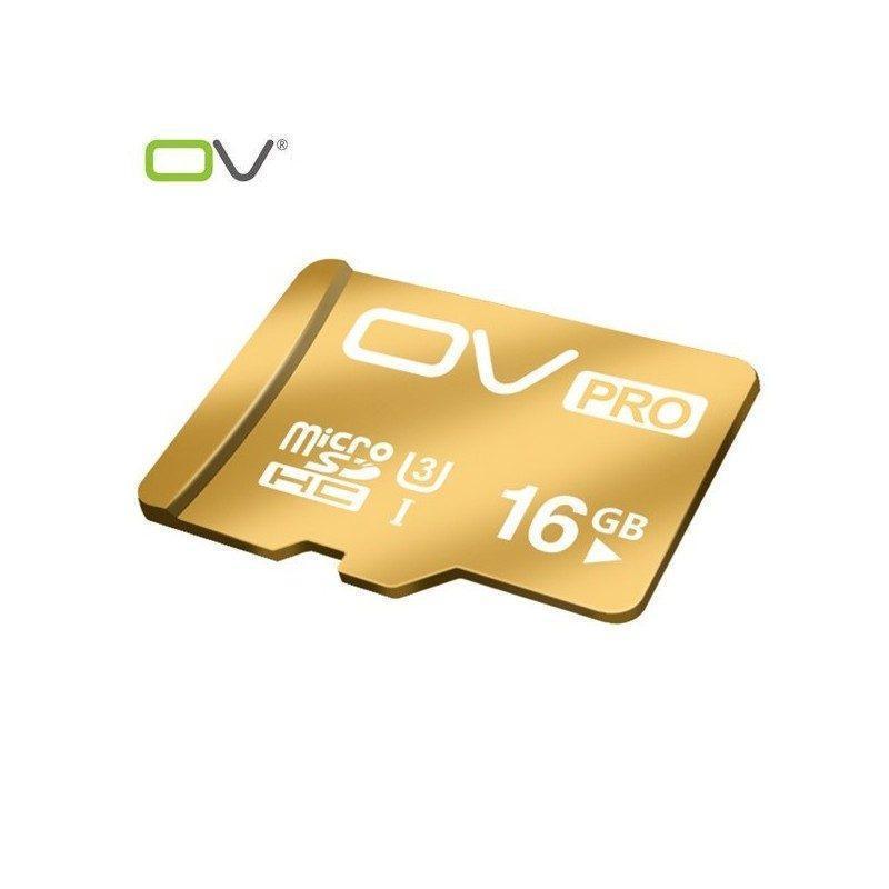 Карта памяти OV Pro micro SD 16 Гб – SDHC, Class 10, UHS-I U3, 95 Мб/сек
