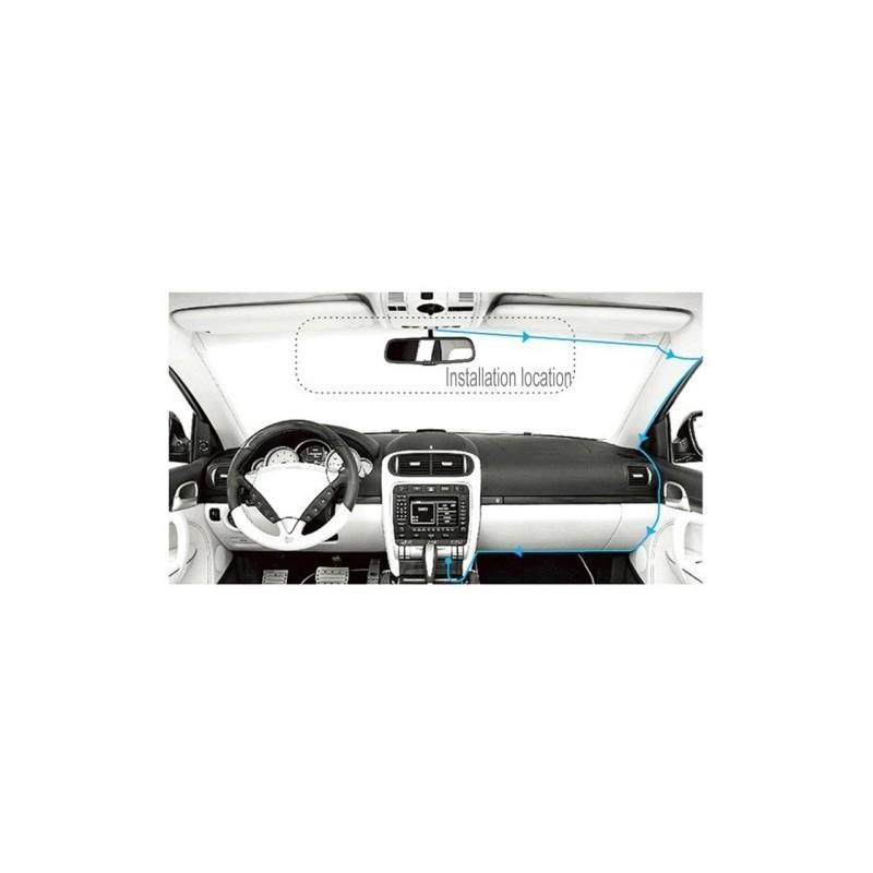 Автомобильный видеорегистратор Road Guard – 1080p, 2.4 дюйма, 160 градусов, циклическая запись, датчик движения, G-сенсор 183484