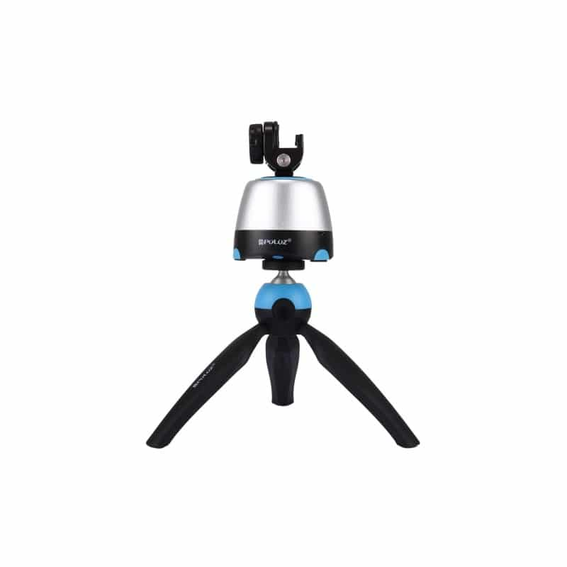 Универсальный трипод PULUZ с пультом ДУ для панорамной, отложенной съемки с креплениями для GoPro, фотокамер, смартфонов 210077