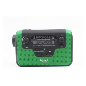 FM/AM/SW1-SW4 радио 5 в 1: Bluetooth колонка, зарядка для телефона, фонарик, лампа+динамо-машина, солнечная батарея, TF-карта