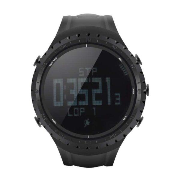 33875 - Водонепроницаемые спортивные часы Sunroad FR801 - шагомер, счетчик калорий, термометр, барометр, высотомер, цифровой компас