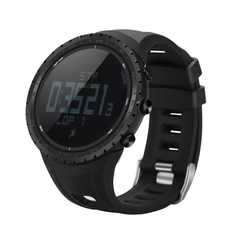 Водонепроницаемые спортивные часы Sunroad FR801 – шагомер, счетчик калорий, термометр, барометр, высотомер, цифровой компас