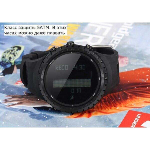 33877 - Водонепроницаемые спортивные часы Sunroad FR801 - шагомер, счетчик калорий, термометр, барометр, высотомер, цифровой компас