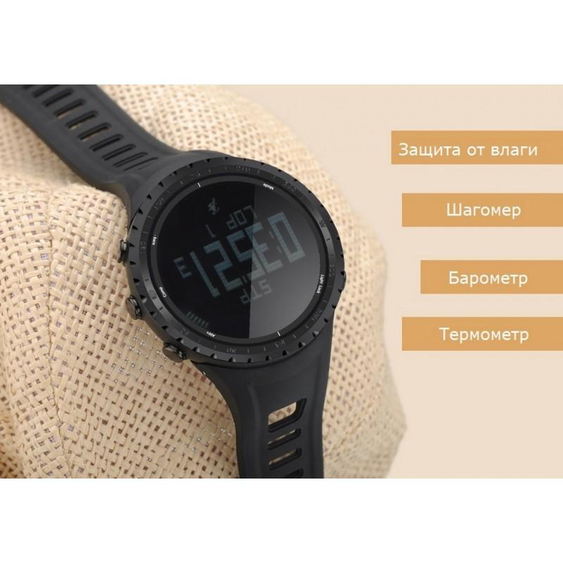Водонепроницаемые спортивные часы Sunroad FR801 – шагомер, счетчик калорий, термометр, барометр, высотомер, цифровой компас 210173
