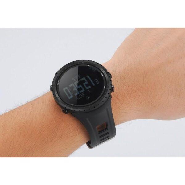 33879 - Водонепроницаемые спортивные часы Sunroad FR801 - шагомер, счетчик калорий, термометр, барометр, высотомер, цифровой компас
