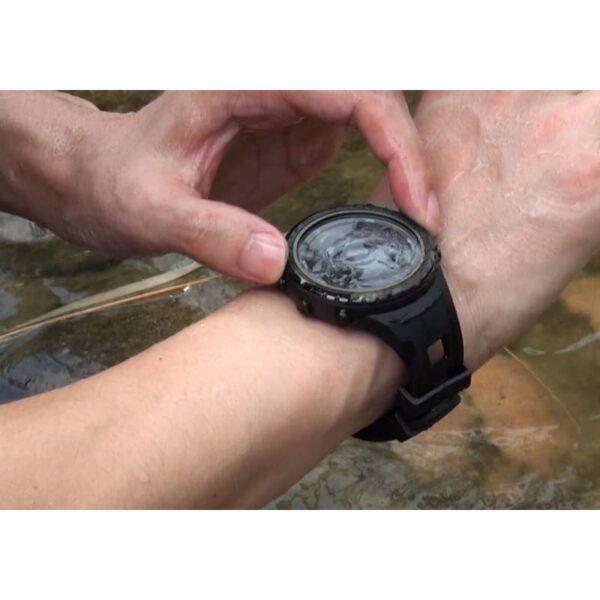 33880 - Водонепроницаемые спортивные часы Sunroad FR801 - шагомер, счетчик калорий, термометр, барометр, высотомер, цифровой компас