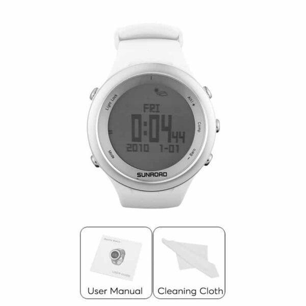 33896 - Спортивные часы Sunroad FR852A - ЖК-дисплей, атмосфероустойчивость, счетчик калорий, компас, высотомер, барометр, секундомер