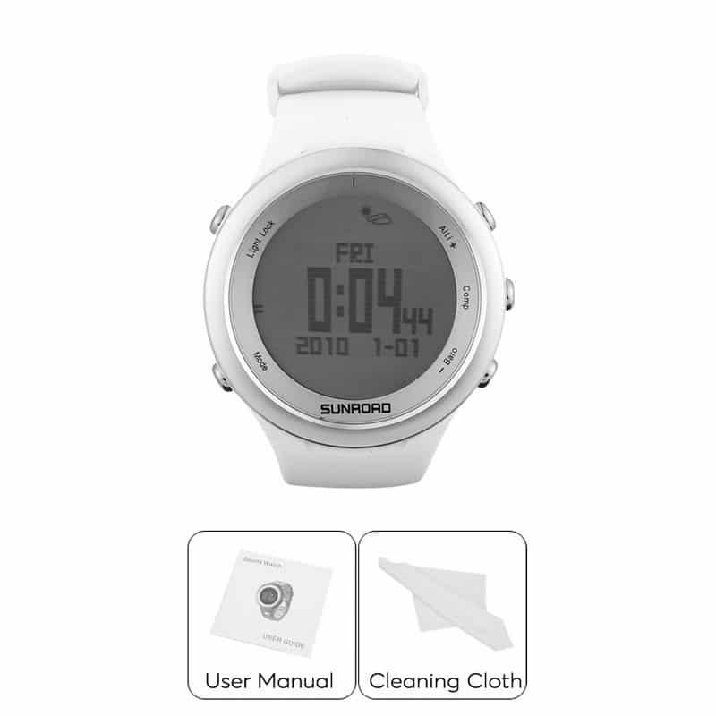Спортивные часы Sunroad FR852A – ЖК-дисплей, атмосфероустойчивость, счетчик калорий, компас, высотомер, барометр, секундомер 210189