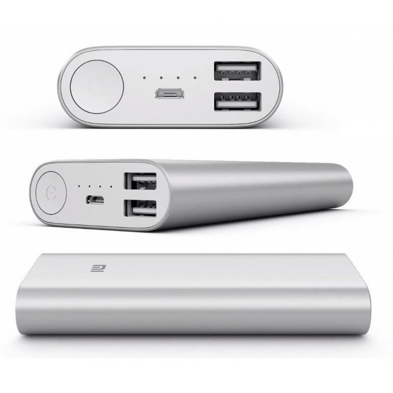 Внешний аккумулятор Xiaomi Mi 16000 мАч – 2x USB 5.1В/ 2.1А 186274