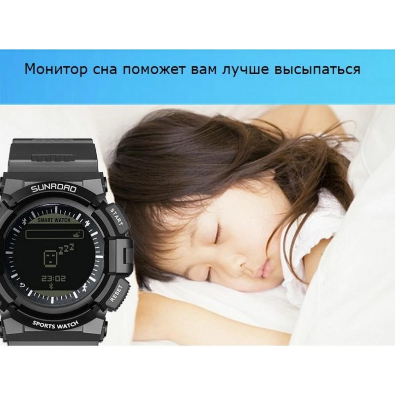 Умные часы SUNROAD FR9211 – Bluetooth, монитор сердечного ритма 210200