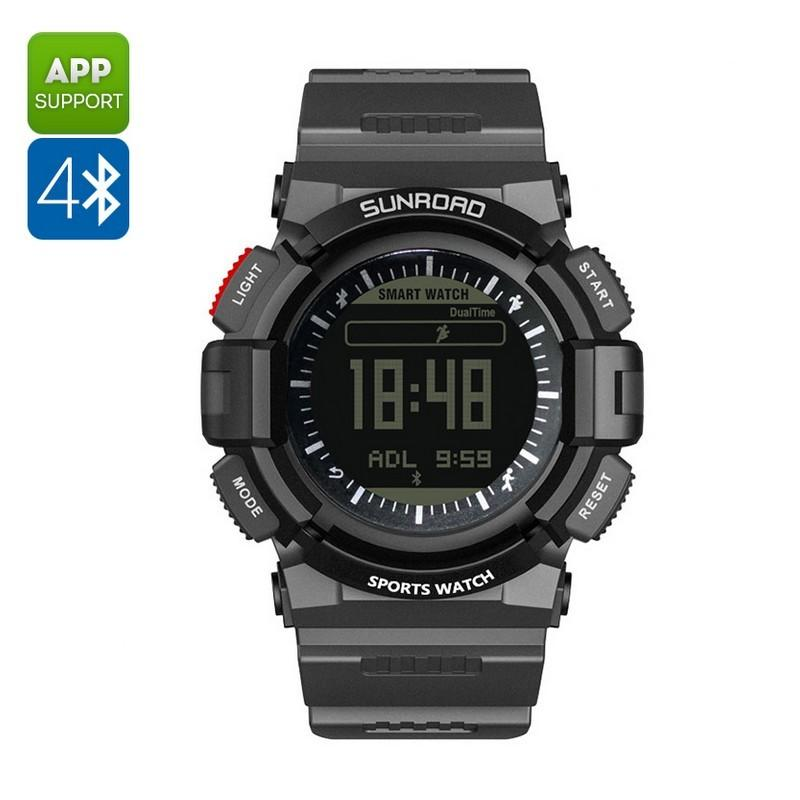 33908 - Умные часы SUNROAD FR9211 - Bluetooth, монитор сердечного ритма