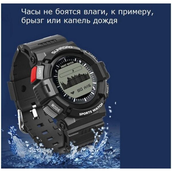 33909 - Умные часы SUNROAD FR9211 - Bluetooth, монитор сердечного ритма