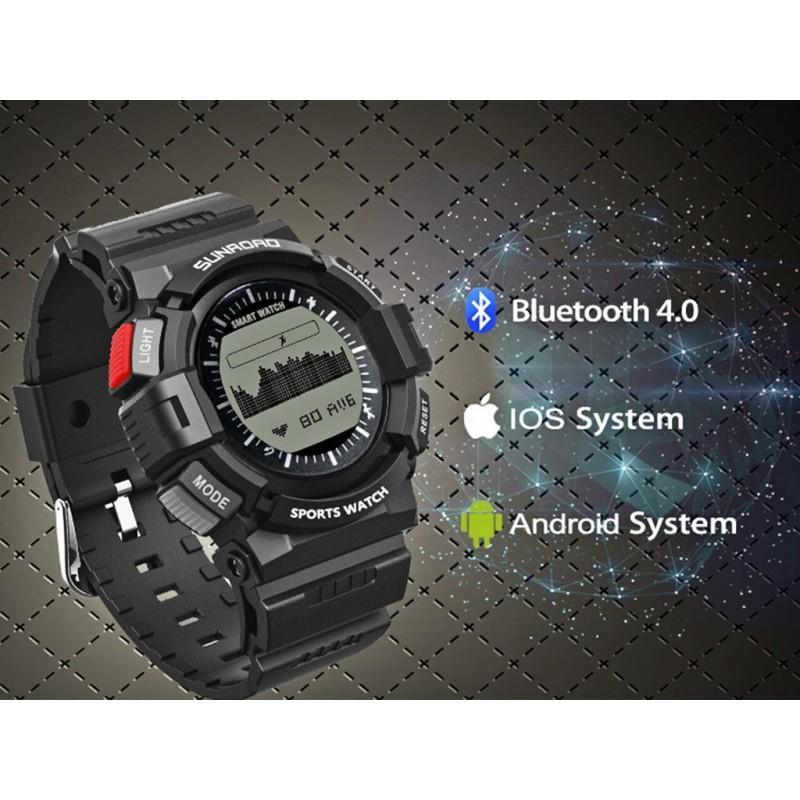 Умные часы SUNROAD FR9211 – Bluetooth, монитор сердечного ритма 210203