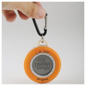 Мультифункциональный компас Sunroad SR108S 6 в 1 – цифровой шагомер, компас, альтиметр, барометр, термометр, погода