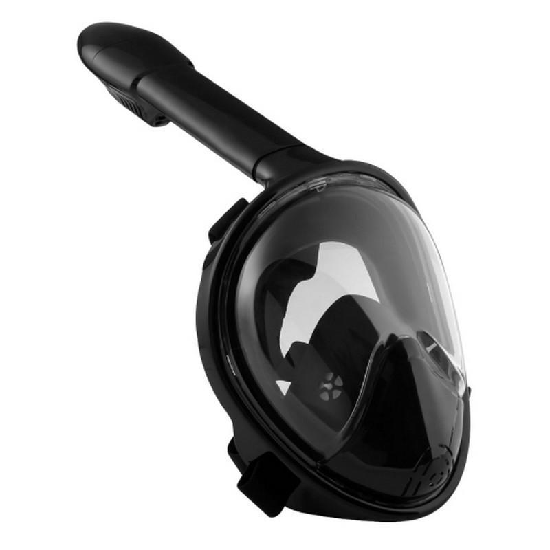34217 - Дайвинг-маска PULUZ 260 мм - крепление для экшн-камеры, вентиляция, двойной воздушный канал, клапан на дыхательной трубке