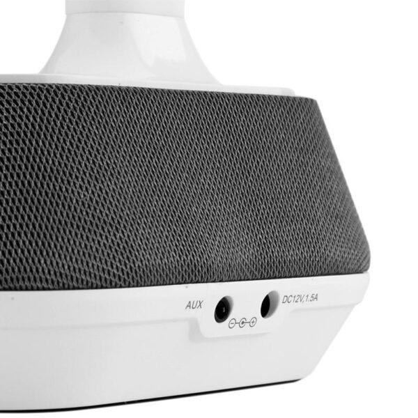 34249 - Энергосберегающая LED-лампа-Bluetooth колонка: 7 Вт динамик, 75 дБ, 260 лм яркость, гнущийся дизайн