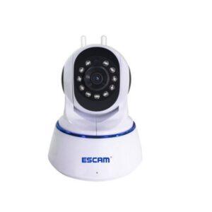 IP-камера ESCAM QF003: двойная антенна, 1080P, PTZ, обнаружение движения, ночное видение 10м, ONVIF, P2P, микрофон, IOS, Android