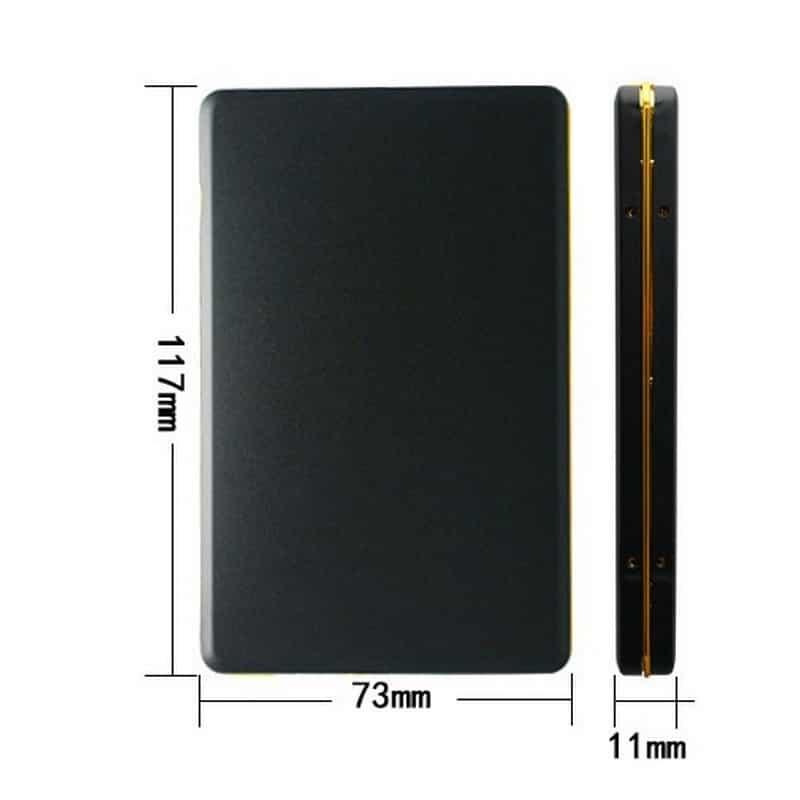 Бюджетный внешний жесткий диск Dragon XL USB 2.0 – металлический корпус, кэш 16 Мб, обороты 5400 210553