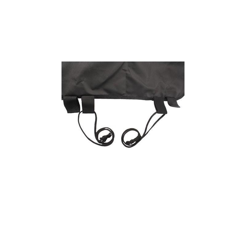 Органайзер на спинку сиденья автомобиля S-1633 с 6 карманами и держателем для зонта (черный) 185190