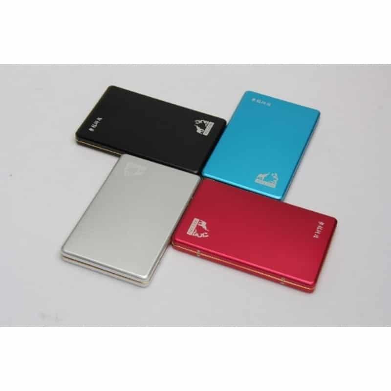 Бюджетный внешний жесткий диск Dragon XL USB 2.0 – металлический корпус, кэш 16 Мб, обороты 5400 210558