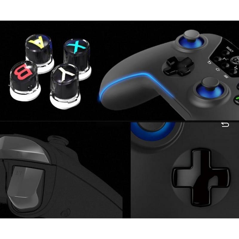 Геймпад FlyDiGi Black Knight Pro X9ET – Bluetooth до 10 м, OTG,  iOS + Android, ключ активации для Android 210588