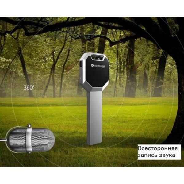 34351 - Миниатюрный диктофон HBNKH Ring - USB зарядка, от 4 Гб до 32 Гб, 88 дБ, выход для наушников