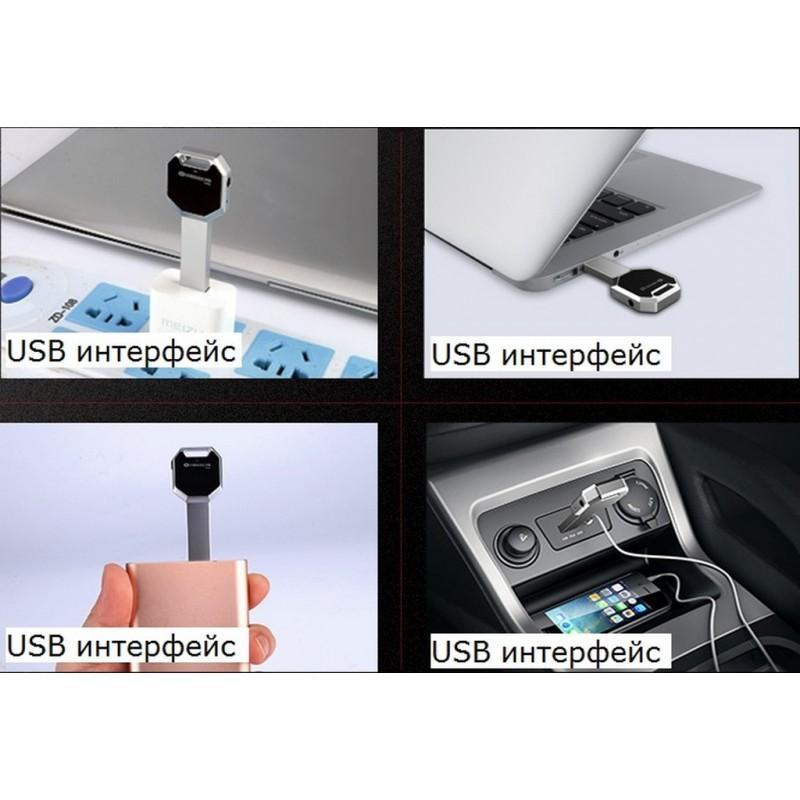 Миниатюрный диктофон HBNKH Ring – USB зарядка, от 4 Гб до 32 Гб, 88 дБ, выход для наушников 210599