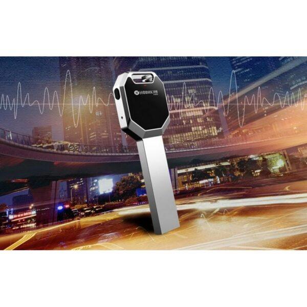 34356 - Миниатюрный диктофон HBNKH Ring - USB зарядка, от 4 Гб до 32 Гб, 88 дБ, выход для наушников
