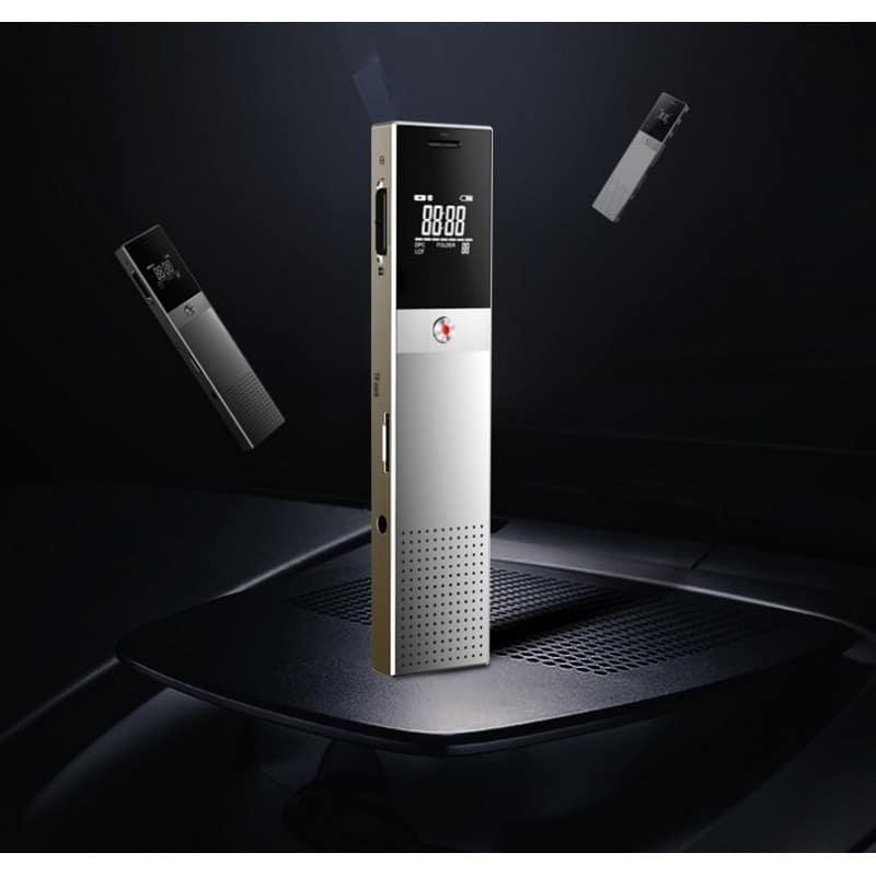 Цифровой диктофон H-R610 с картой памяти – до 165 часов записи, быстрая зарядка, шумоподавление, запись по таймеру, OLED экран 210604
