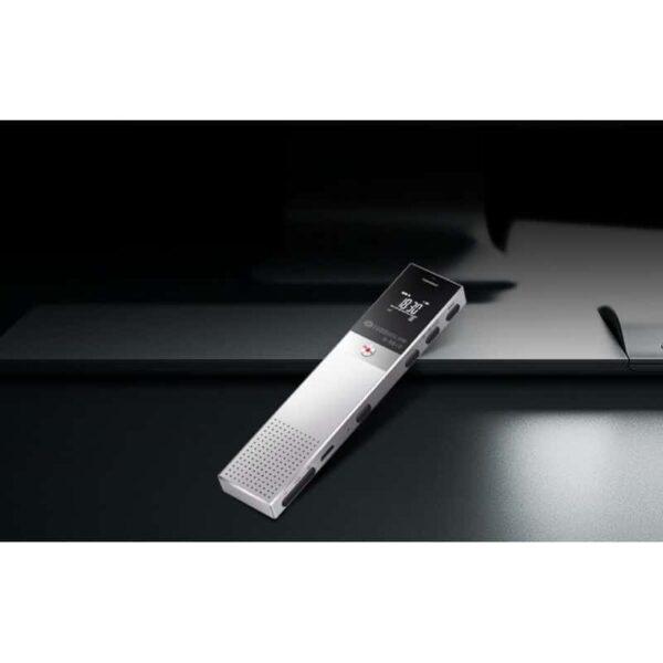 34360 - Цифровой диктофон H-R610 с картой памяти - до 165 часов записи, быстрая зарядка, шумоподавление, запись по таймеру, OLED экран