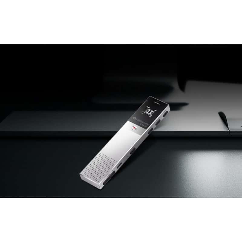Цифровой диктофон H-R610 с картой памяти – до 165 часов записи, быстрая зарядка, шумоподавление, запись по таймеру, OLED экран 210606