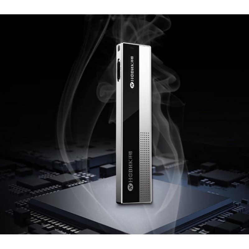 Профессиональный диктофон H-R100 – до 75 часов записи, шумоподавление, двойной микрофон, OLED экран, FM-радио 210615