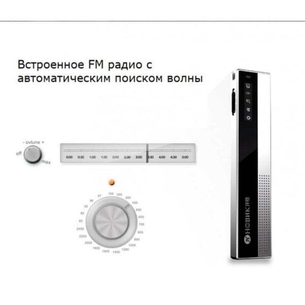34373 - Профессиональный диктофон H-R100 - до 75 часов записи, шумоподавление, двойной микрофон, OLED экран, FM-радио